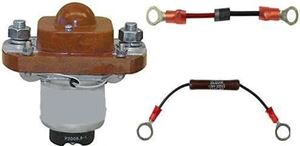 Picture of SOL48HDASSY 48 Volt Heavy Duty Solenoid with Resistor & Diode.  Free Shipping US 48