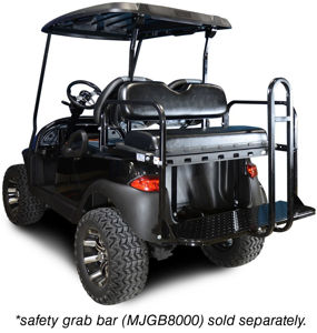 Picture of Back orders only  due in  mid August 01-003 Genesis 150 Rear Flip Seat for Club Car Precedent - Black