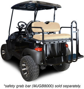 Picture of Back orders only  due in  mid August 01-001 Genesis 150 Rear Flip Seat for Club Car Precedent - Buff