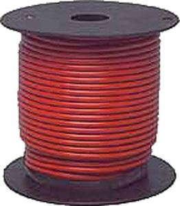 Picture of 2554 WIRE RED 16GA 100' SPOOL