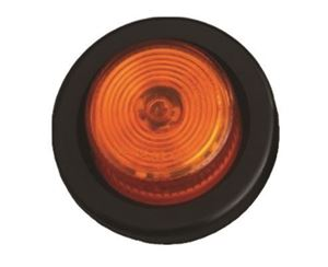 """Picture of 2"""" LED Round Marker and Clearance, 9 LEDs 5mm Amber, G"""
