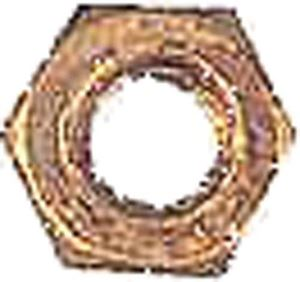 Picture of 716 1/4-20 JAM NUT BRASS (BAG 20)