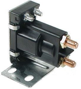 Picture of Solenoid, 12V 4P, silver EZ G 79-94 Mar