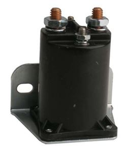 Picture of 1162 Solenoid, 24V 4P, silver EZ/TD