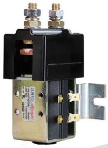 Picture of Solenoid; 48 Volt High Amp Curtis, SW180B w/Bracket