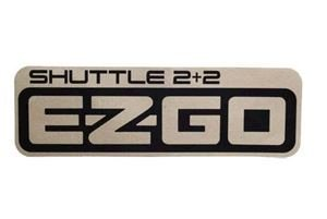 Picture of Ezgo 2 + 2 shuttle decal