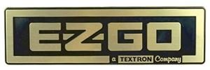 Picture of 6135 NAME PLATE, GOLD/BLACK