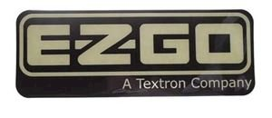 Picture of 8019 NAME PLATE, EZGO RXV