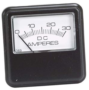 Picture of 3521 AMMETER, 30AMP, CORNER MOUNT