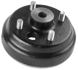 Picture of 14174 Brake drum w/wheel lugs, EZ