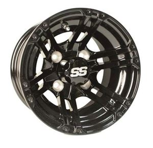 Picture of 40958 (19-148)WHEEL, 10X7 SPECTER 3+4 SS PNTD BLACK
