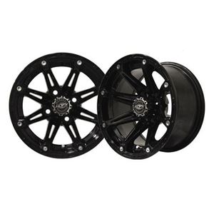 Picture of 19-050 ELEMENT 12x7 Black Wheel