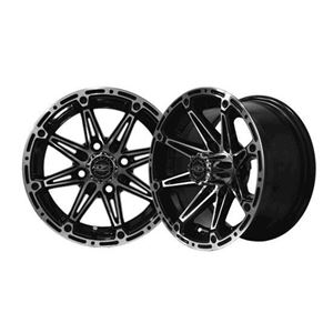 Picture of 19-054 ELEMENT 12x7 Machined/Black Wheel