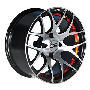 Picture of 19-102 GTW Pursuit 12x7 Red Wheel