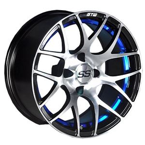 Picture of 19-104 GTW Pursuit 12x7 Blue Wheel