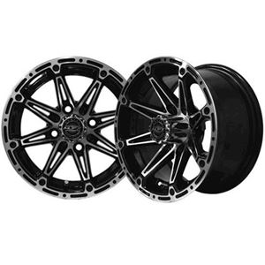 Picture of 19-056 ELEMENT 14x7 Machined/Black Wheel