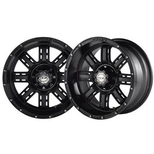 Picture of 19-075 TRANSFORMER 14x7 Matte Black Wheel