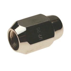 "Picture of 1741 LUG NUT, CHROME 1/2"", EACH  (1204)"
