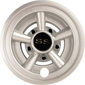 "Picture of 4641-SM WHEEL COVER, 8"" SS SILVER METALLIC"
