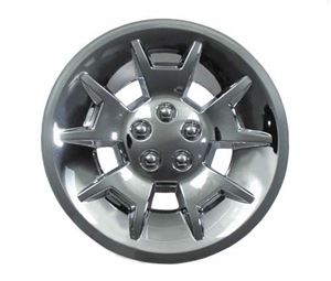 """Picture of 6905 WHEEL COVER, 10"""" DEMON SILVER MET"""