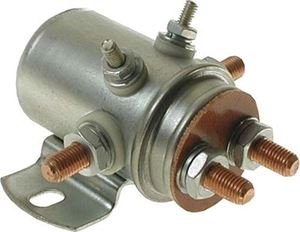 Picture of Solenoid, 12V 6P, silver YA G G2/8/9/14/16/20