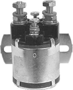 Picture of 1143 Solenoid, 24V 4P, silver CC/CO/EZ/TD/YA