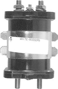 Picture of 1165 Solenoid, 24V 6P, silver TD