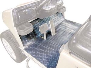 Picture of 28733 FLOOR MAT COVER CC PRECEDENT DIAMOND PLATE GRAY