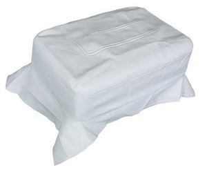 Picture of 2900 SEAT BACK COVER WHITE CC 79-99