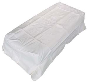 Picture of 2904 SEAT BOTTOM COVER WHITE CC 79-99