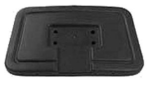 Picture of 2919 SEAT BACK CAP BLACK CC