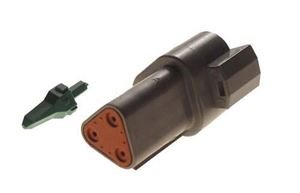 Picture of 3-PIN RECEPTACLE & WEDGE LOCK CC