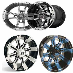 "Picture for category 10"" Aluminum Wheels"