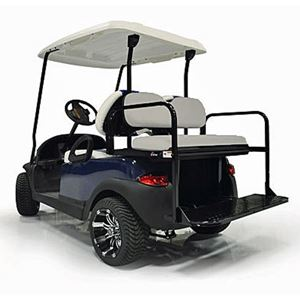 Picture of 18124 GTW Mach 2 Aluminum E-Z-GO RXV Oyster Rear Flip Seat (Fits 2008-Up)