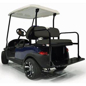 Picture of 01-178 GTW MACH-1 (STEEL) REAR FLIP SEAT, DRIVE2 (2017), BLACK CUSH