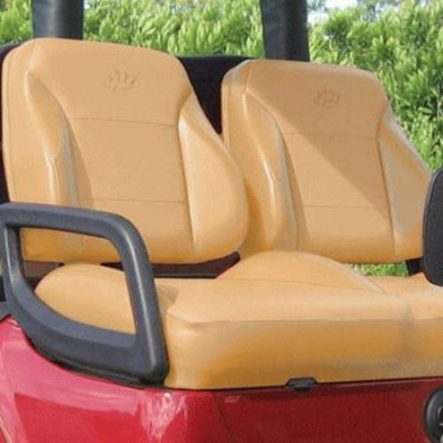 31782 Club Car Ds Tan Suite Seats Fits 2000 Up Carts Zone Your