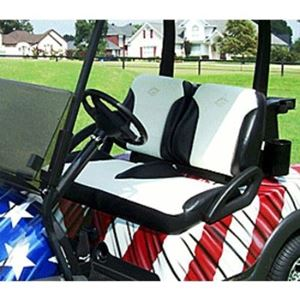 Picture of 31793 Yamaha Black / White Suite Seats (Models G29/Drive)