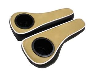 Picture of 53197 ARM REST CUSHION WITH CUPHOLDER-EZ TXT, YAM G22  TAN