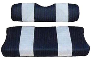 Picture of 20047 SEAT CUSHION SET,NAVY/WHTE,FRONT,YAM G9