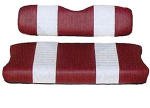 Picture of SEAT COVER SET,RED/WHTE,FRONT,CC PRECEDENT