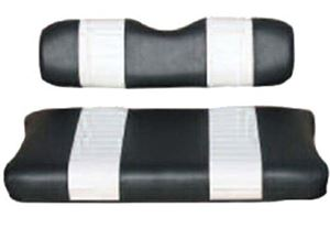 Picture of 20002 SEAT COVER SET,BLK/WHT,FRONT,CC 00-04 DS
