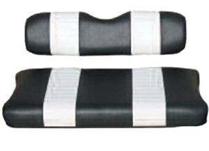 Picture of 20007 SEAT CUSHION SET,BLACK/WHTE,FRONT,EZ MED/TXT