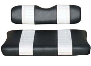 Picture of 20009 SEAT CUSHION SET,BLACK/WHTE,FRONT,EZ GAS MARATHON