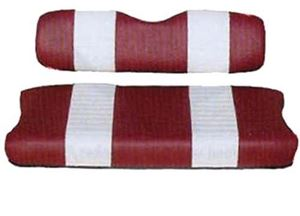 Picture of 20017 SEAT COVER SET,RED/WHTE,FRONT,EZ MARATHON