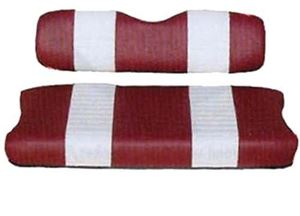 Picture of 20020 SEAT COVER SET,RED/WHTE,FRONT,YAM G11-G22