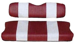 Picture of 20022 SEAT COVER SET,RED/WHTE,FRONT,YAM G2/G9