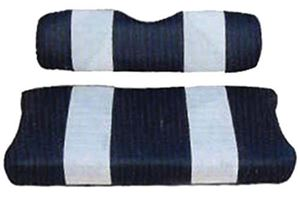 Picture of 20034 SEAT COVER SET,NAVY/WHTE,FRONT,CC 00-04 DS