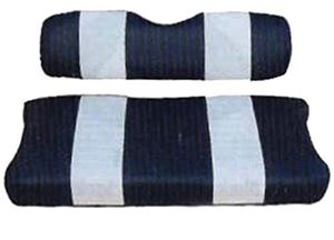 Picture of 20037 SEAT COVER SET,NAVY/WHTE,FRONT,YAM G8