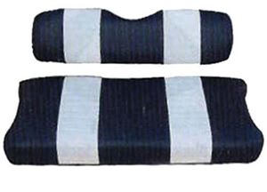 Picture of 20039 SEAT CUSHION SET,NAVY/WHTE,FRONT,EZ MED/TXT