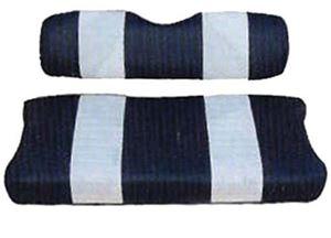 Picture of 20042 SEAT CUSHION SET,NAVY/WHTE,FRONT,CC 00-04 DS